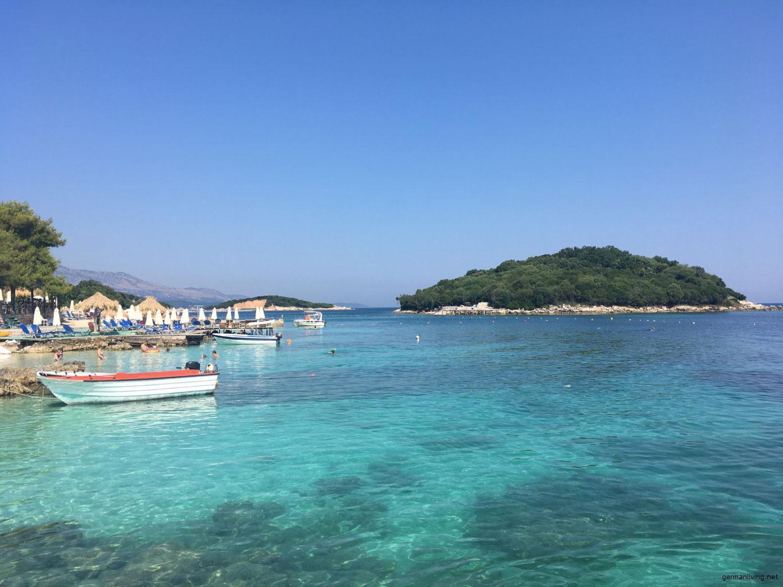 Die Bucht von Ksamil - Albanien - Albanienurlaub - Reiseland Albanien