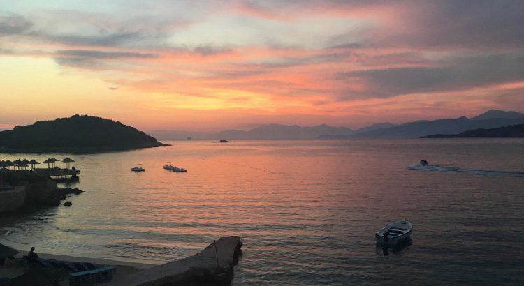 Die Bucht von Ksamil - Albanien