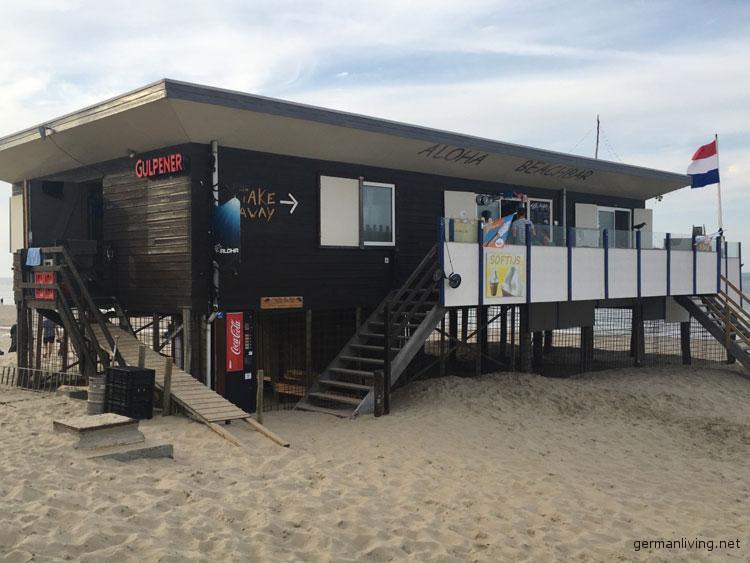Vrouwenpolder Strand Zeeland Walcheren Aloha Beachbar Strandpavillon