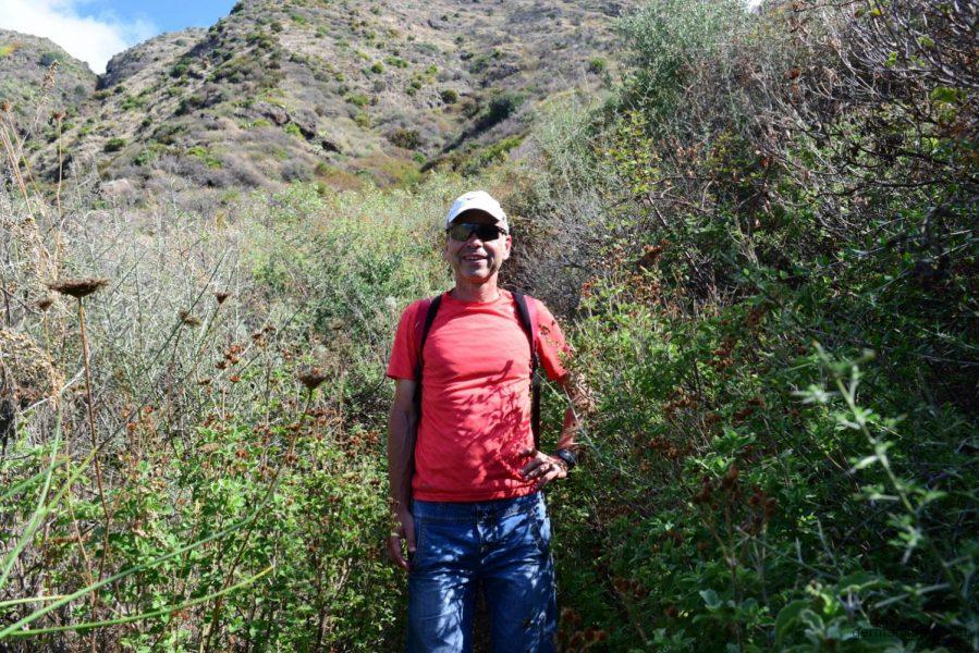 Trail durch dichte Macchia