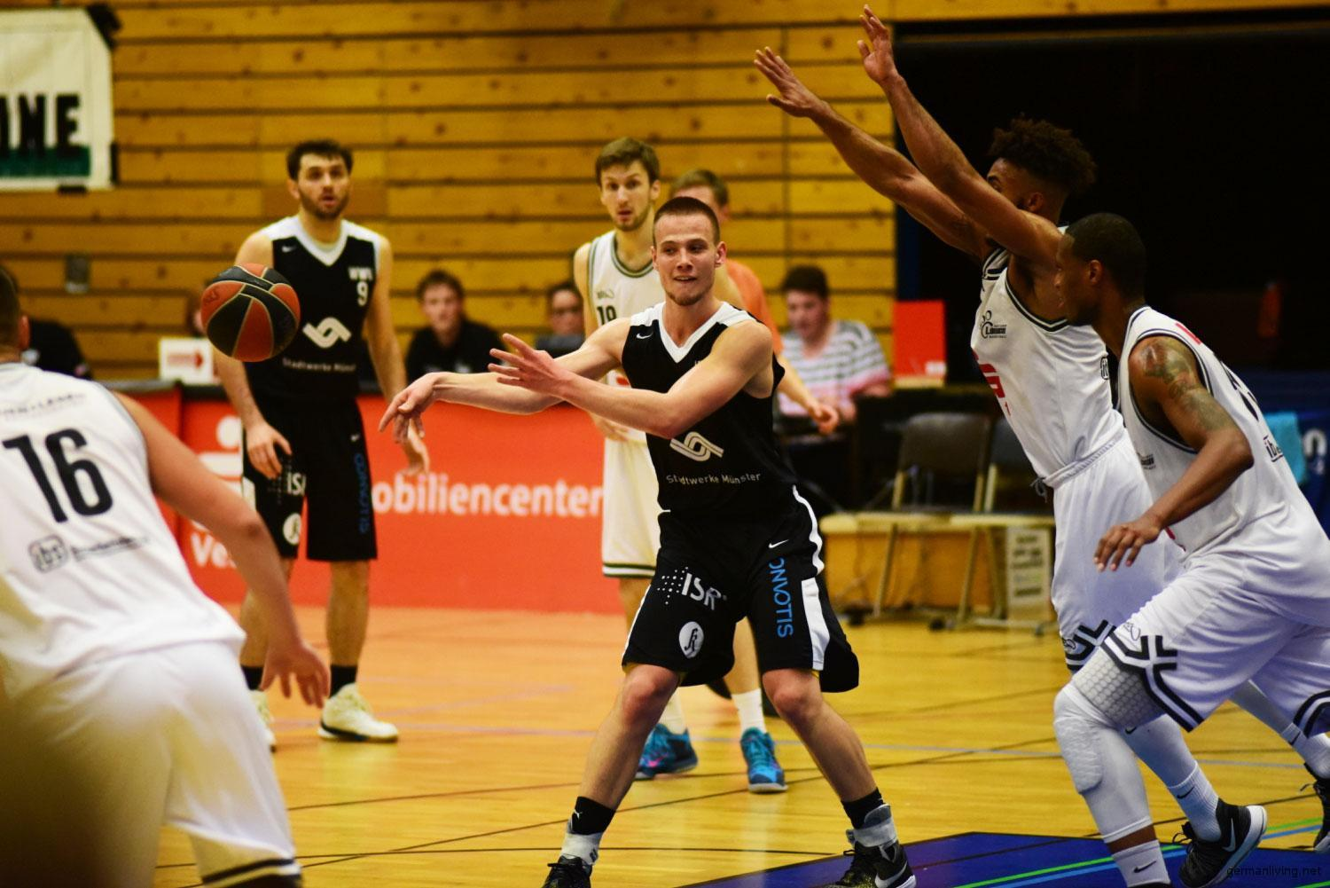 Tim Kosel WWU Baskets Münster
